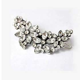 Retro Flowers Diamond Multipurpose Hairpin