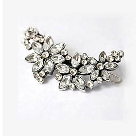 Retro Flowers Diamond Multipurpose Hairpin