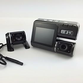 i1000 hd 1080p Doppelobjektiv-Camcorder Auto dvr dash cam Black-Box mit Ruckfahrkamera