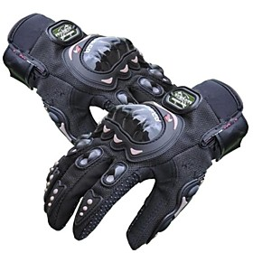 Carbon Fiber Motorcycle Power sports Racing Gloves