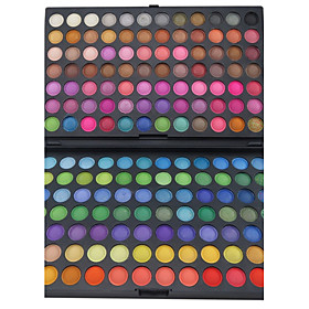 168 Eyeshadow Palette Matte / Shimmer Eyeshadow palette Powder Large Party Makeup