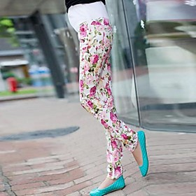 Maternity's Fashion And Comfortable Printed Stretch Leggings