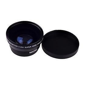 0.45 X 49mm Wide Angle Macro Lens for Sony Nikon Canon Fujifilm Samsung Pentax Panasonic Leica Olympus Sigma 49mm Thread Lens