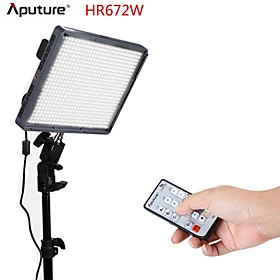 Aputure Amaran LED Video Light HR672W CRI95 photography lighting for Camcorder or DSLR Cameras