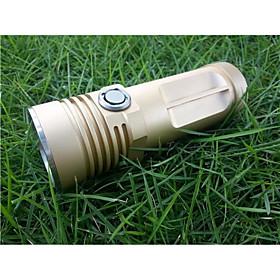 1 PCS App king Single Lamp CREE XML U2 L2 Cylindrical Light Flashlight Small Monster 900LM (3  14500)