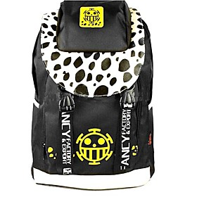 One Piece Trafalgar Law Black Yellow Cosplay Backpack/Bag