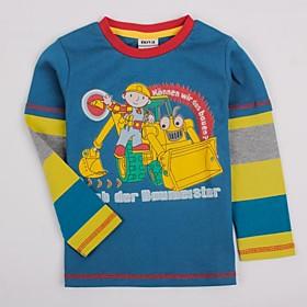 Camisetas de Tirantes y Tops ( Algod? - Micro-el?ica - Mediano - Manga Larga - para BOY