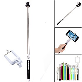 G-499S Stainless steel Bluetooth Intelligent Retractable Monopod for GoPro 2/3/3 Camera / Iphone / Cellphone