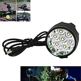 Hoofdlampen / Fietsverlichting / Koplamp fiets LED Cree XM-L T6 Wielrennen Oplaadbaar / Hoeklamp 18650 7000 Lumens Batterij
