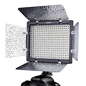 YONGNUO YN-300ii ha condotto la luce video della telecamera temperatura di colore regolabile per canon nikon olympus pentax fotocamera videocamera
