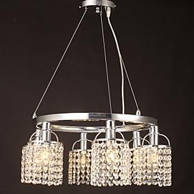 Max 40W Подвесные лампы ,  Тиффани Прочее Особенность for Хрусталь Металл Гости