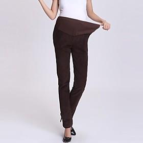 Pantalones de maternidad ( Otro ) Medio - R?do - Recto