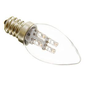 1W 15-20 lm E12 LED Candle Lights C35 3 leds Decorative Warm White Cold White AC 220-240V 3960949