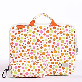 Discount Electronics On Sale Vfeng Fashion Computer Bright Surface Wave Point Handbag for Laptop Computer