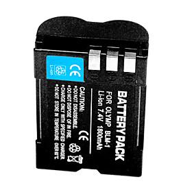 1800mAh Digital Camera Battery BLM1 for Olympus Evolt E-500 E-1 E1