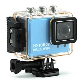 Megafeis V200 Waterproof Sports Outdoor Action Video Camera Full HD 1080P Wide-Angle Camcorder WIFI Remote