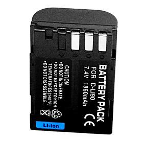 1860mAh Digital Camera Battery D-Li90 for Pentax DSLR K7 K-7 K-5 K5 645D