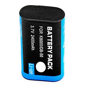 2400mAh Digital Camera Battery KLIC-8000 for Kodak Z712 Z1485 Z8612