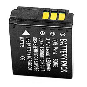 1200mAh Digital Camera Battery S007E for Panasonic Lumix DMC-TZ5 CGA-S007 DMW-BCD10