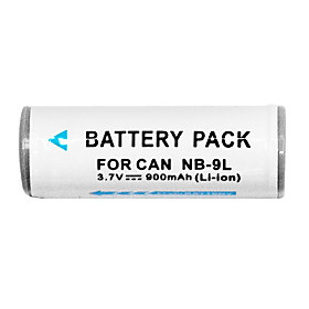 900mAh Digital Camera Battery NB-9L for Canon IXUS1000HS SD4500IS IXY50S