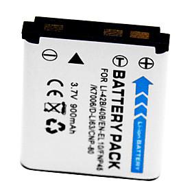 900mAh Digital Camera Battery Li-40B/42B for OLYMPUS LI-40B LI-42B