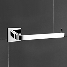 """YALI.M,Toilet Paper Holder Chrome Wall Mounted 60 x 190 x 48mm (2.36 x 7.48 x 1.88"""""""") Brass Contemporary"""" 87115"""