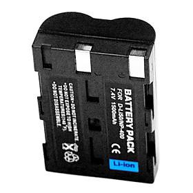 1500mAh Digital Camera Battery NP-400 / D-Li50 for Pentax K20D K10D