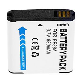 880mAh Digital Camera Battery BP88A for Samsung DV200 DV300