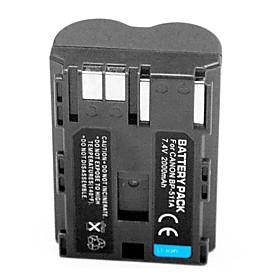 2000mAh Digital Camera Battery BP-511A for Canon 50D 40D 300D 30D 20D G5 G6