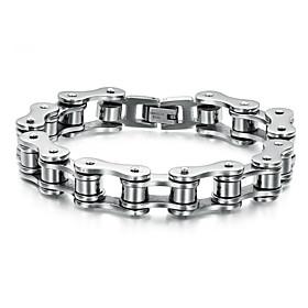 Personality Has Fine Bracelet Chain Man Titanium Steel Jewelry Gifts