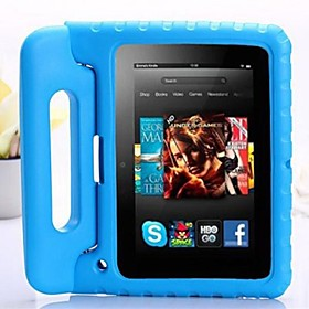 Kids Shock Proof Portable Foam Handle Stand Case for Amazon Kindle Fire HD (Assorted Colors)