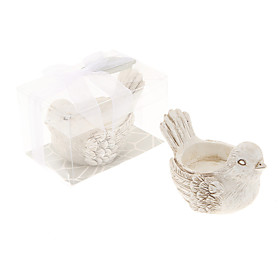 Retro Handicraft Bird Shape Candle Holder