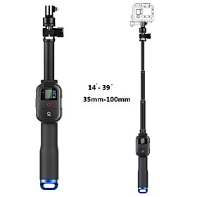 New Telescopic Remote Pole 39 Inch 4-Section Retractable Handheld Monopod for GoPro Cameras Hero 1/ 2/ 3/ 3