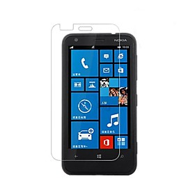Dengpin Anti-Explosion Fingerprint Resistant HD Clear Tempered Glass Screen Protector Film for Nokia Lumia 620
