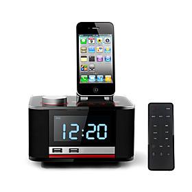 Hometime b11 iphone ipad altoparlante ricarica con radiosveglia