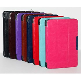 Fashion 3 Fold Crazy-horse PU Leather Book Case Cover for Amazon Kindle Fire HDX7