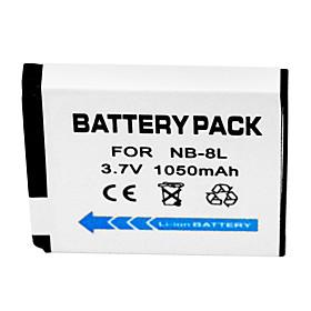 1050mAh Digital Camera Battery NB-8L for Canon A3000 A3100 A3200 A3300