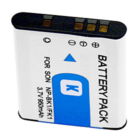 950mAh Digital Camera Battery NP-BK1 for Sony DSC-S750 DSC-S780 DSC-S850 DSC-950 DSC-980