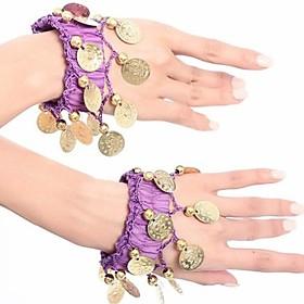 buikdans damesmode munten chiffon armband elk stuk (meer kleuren)