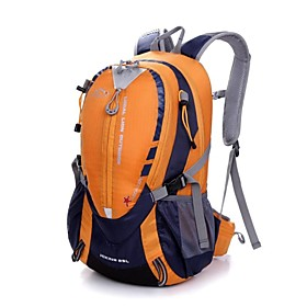 Hiking Backpack 25 L - Moistureproof Quick Dry Dust Proof Outdoor Swimming Camping / Hiking Fishing Polyester Nylon Red Green Blue