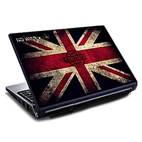 Grobritannien-Flaggen Union Jack Muster Laptop Schutzfolie fur 15,6