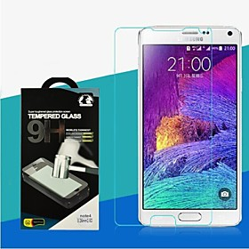 2.5D 0.26mm 9H High Quality Premium Tempered Glass Glossy Screen Protector for Samsung Galaxy Note4