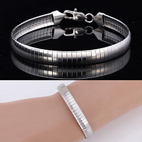 New Big Cool High Quality 316L Titanium Steel Snake Chain Bracelet Bangle