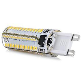 G9 5W 104x3014SMD 600LM 6000-6500K Cool White Light LED Corn Bulb (AC110-130V)