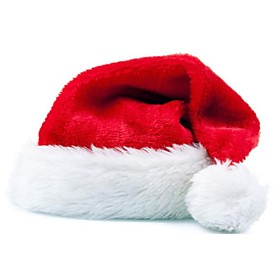 Christmas Decoration High-Grade Christmas Hat Plush Christmas Hat