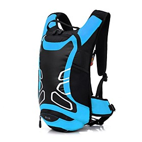 12 L Bike Hydration Pack  Water Bladder - Waterproof, Moistureproof, Dust Proof Outdoor Swimming, Camping / Hiking, Football / Soccer Polyester, Nylon Red, Gre