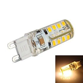 G9 2.5W 36x 2835 SMD 220LM 3000K Warm White Light LED Corn Bulb (AC 200-240V)