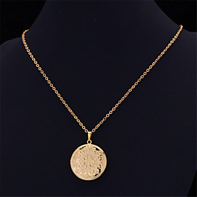 U7New Vintage Photo Locket Pendant Floating Lockets 18K Real Gold Platinum P..