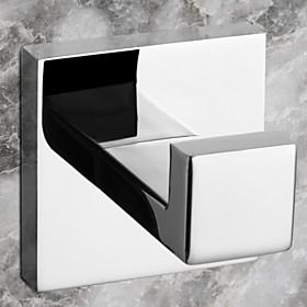 Robe Hook High Quality Contemporary Stainless Steel 1 pc - Hotel bath 1466281