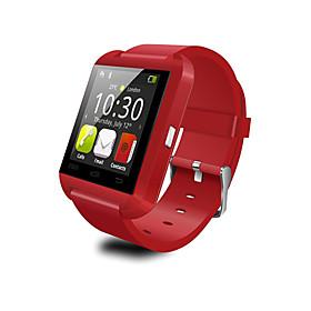 U watch Slimme accessoires - Smart horloge - Bluetooth 3.0 Zoek mijn toestel \/ Wekker - voor iOS \/ Android - Smartphone